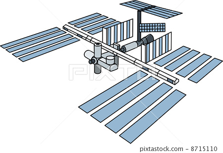 International space station clipart vector free download International Space Station - Stock Illustration [8715110] - PIXTA vector free download