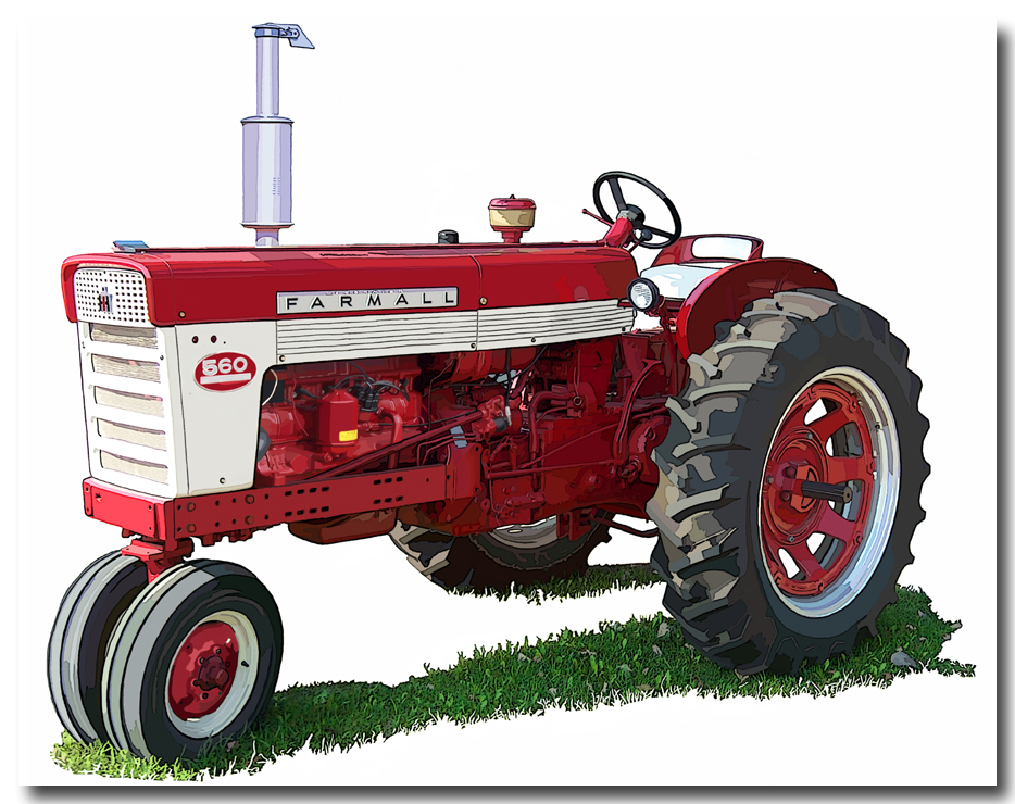 International tractor clipart free stock International Farmall Tractor Clipart - 740*934 - Free Clipart ... free stock
