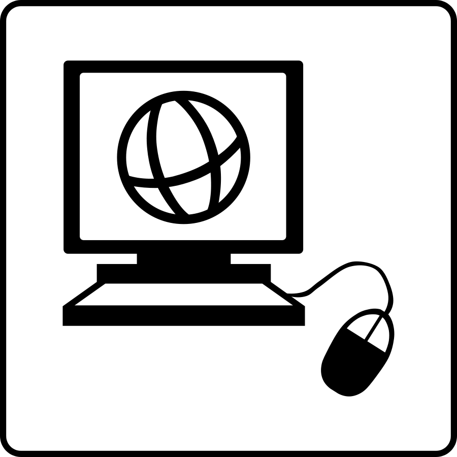 Internet clipart free picture black and white download Best Internet Clipart #23063 - Clipartion.com picture black and white download