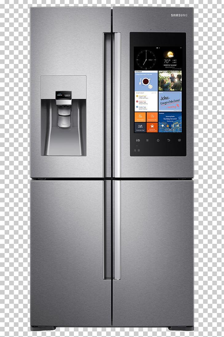 Internet refrigerator clipart clipart transparent Samsung Family Hub RF56M9540 Internet Refrigerator Samsung ... clipart transparent