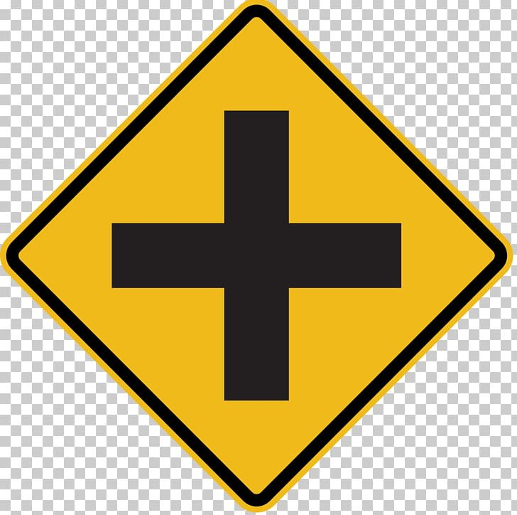 Intersection clipart graphic library library Traffic Sign Intersection Road Warning Sign PNG, Clipart, Angle ... graphic library library
