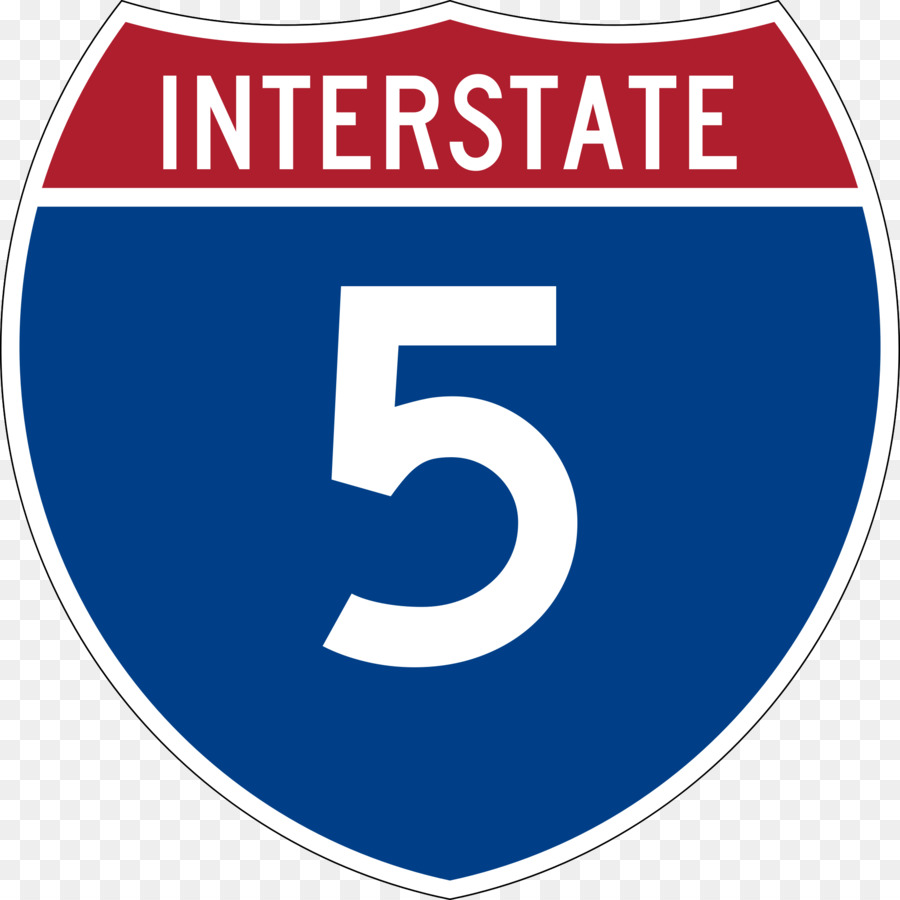 Interstate 5 clipart