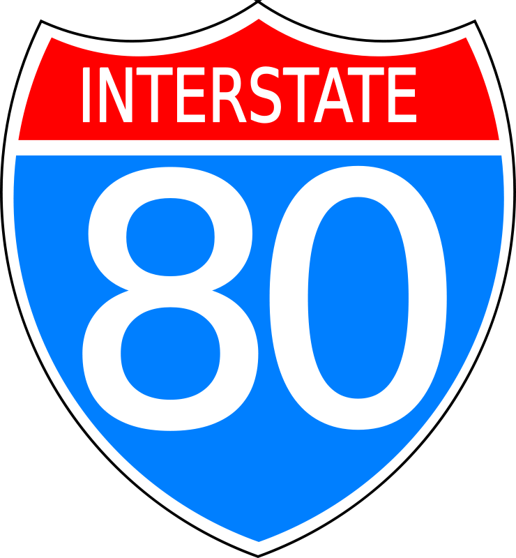 Interstate road sign clipart banner library library Free Clipart: Interstate highway sign | Anonymous banner library library