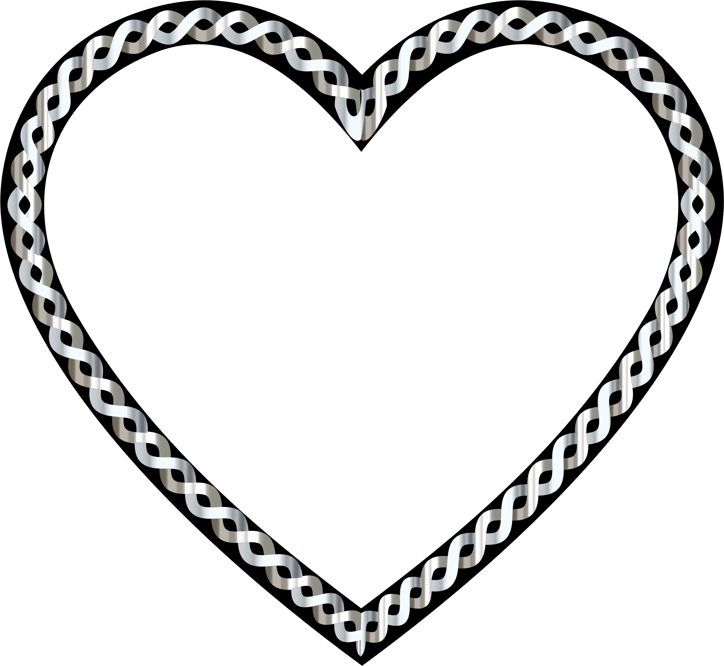 Clipart - Intertwined Heart 5 clipart transparent stock