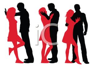 Intimate clipart picture free stock Being Intimate - Clipart | Clipart Panda - Free Clipart Images picture free stock