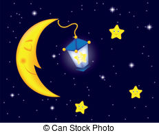 Moon and stars clipart can stock photo svg library download Moonlight night Vector Clip Art EPS Images. 14,070 Moonlight night ... svg library download