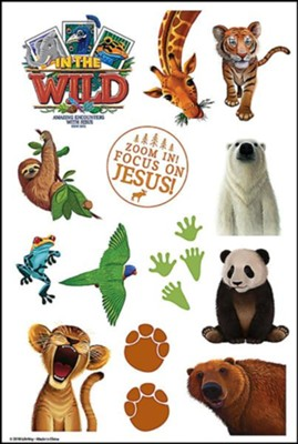 Into the wild clipart clip In The Wild: Theme Stickers (pkg. of 10 sheets) clip
