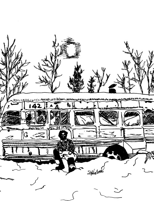 Into the wild clipart black and white download Into the Wild - t-shirtenjoythesilence.com black and white download