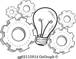 Inventing clipart transparent stock Invention Clip Art - Royalty Free - GoGraph transparent stock
