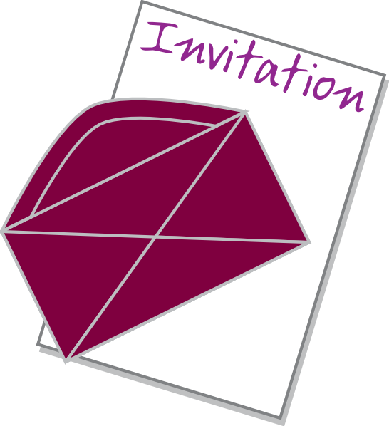Invitiny clipart jpg Invitation Clip Art at Clker.com - vector clip art online ... jpg