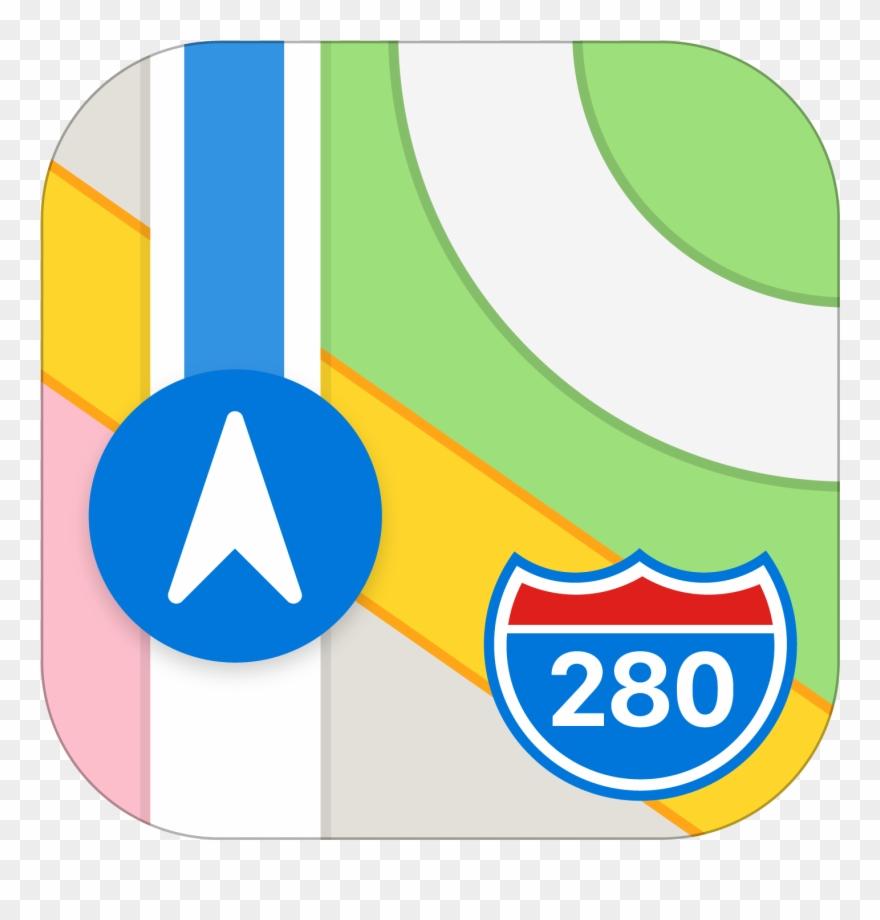 Ios 11 icons clipart svg transparent Ios - Apple Maps Icon Clipart (#1951316) - PinClipart svg transparent