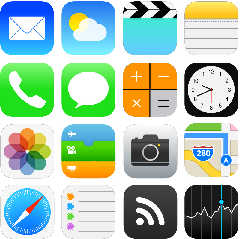 Ios 11 icons clipart download clip art download iOS 7 Style Icons Vector | Free Vector Graphic Download clip art download