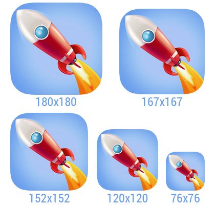 Ios app clipart sizes svg royalty free stock iOS 9 icon size guide | Creative Freedom svg royalty free stock