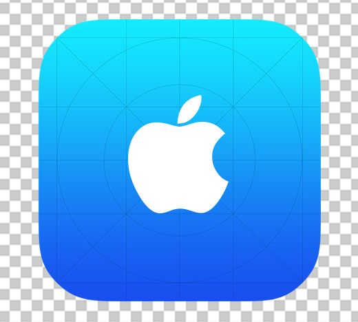 Ios app clipart sizes clipart royalty free App Icon Template - is a free Photoshop resource that makes it ... clipart royalty free