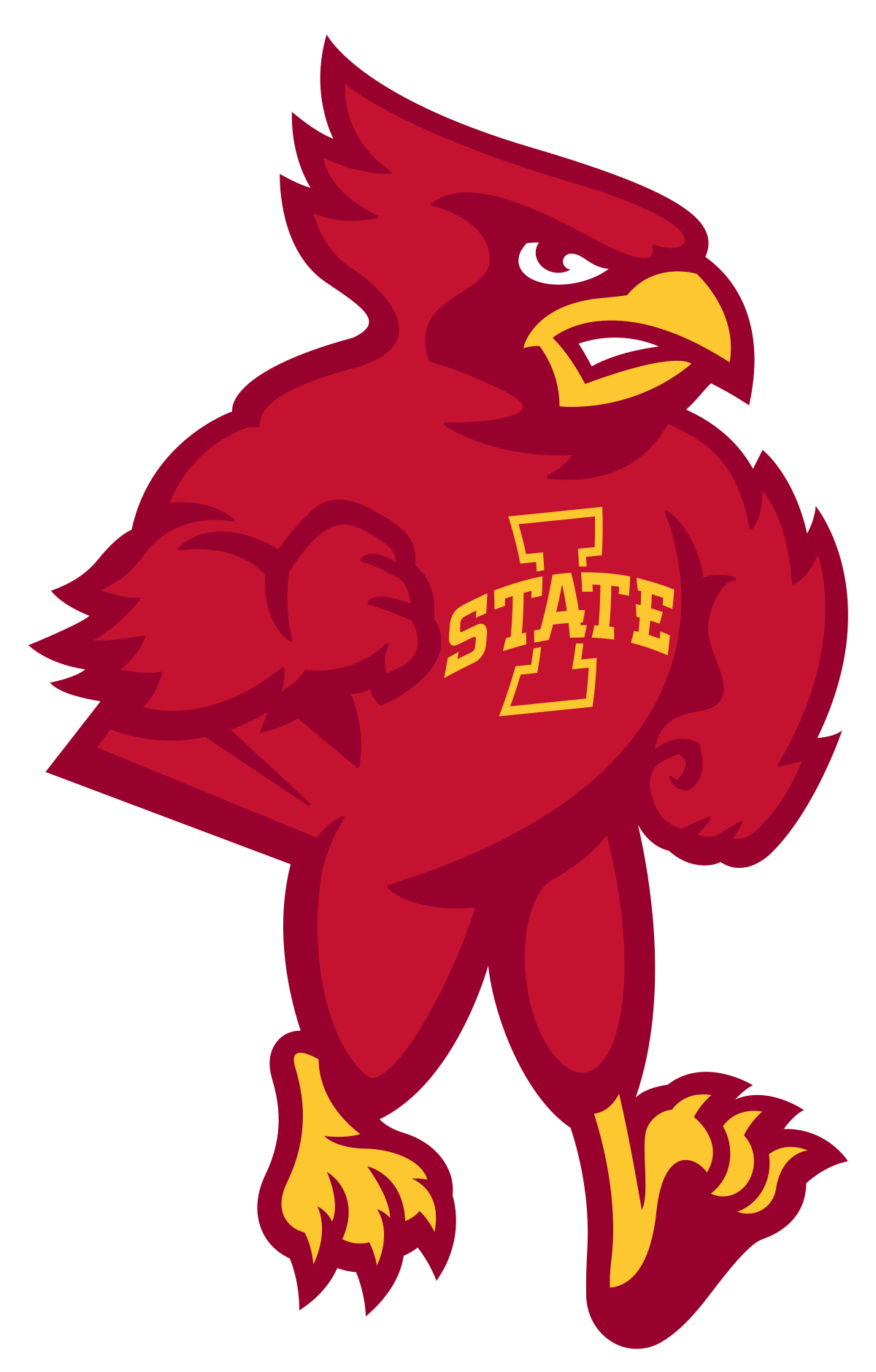 Iowa state university logo clipart clipart free stock Cy the Cardinal - Wikipedia clipart free stock