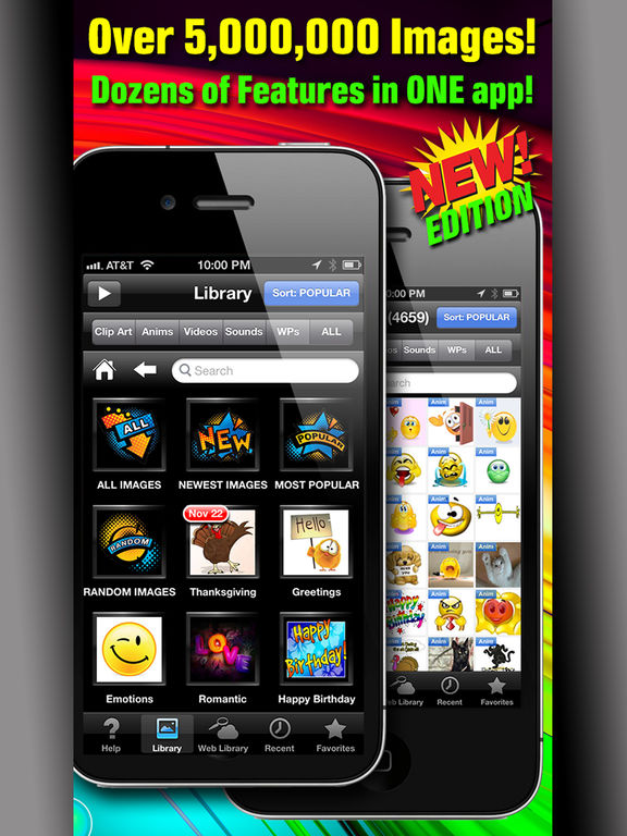 Ipad app clipart banner transparent CLIPish Pro - Animations, Clipart, 3D Emoji Icons on the App Store banner transparent