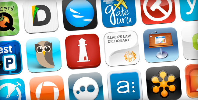 Ipad app clipart banner royalty free stock 80 iPad Apps Attorneys Love, 8 Days a Week: An App Strategy for ... banner royalty free stock