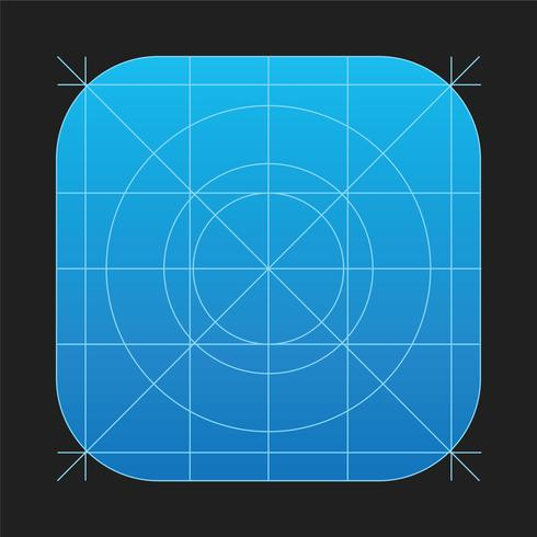 Ipad app icon clipart image royalty free stock IOS7 App Icon Vector Grid - Download Free Vectors, Clipart ... image royalty free stock