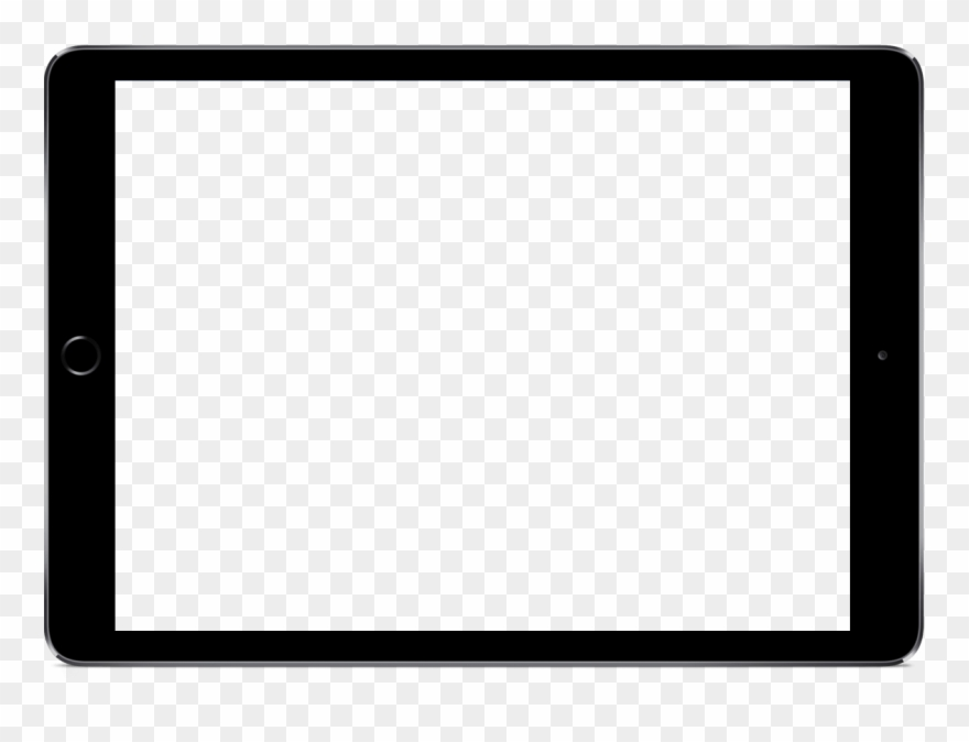 Ipad pro frame clipart clip stock Ipad Frame - Ipad Png Horizontal Clipart (#892617) - PinClipart clip stock