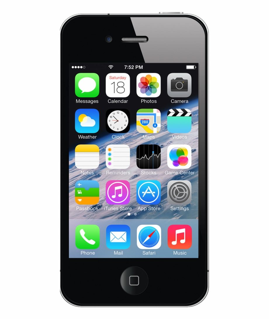 Iphone 4 s clipart clip freeuse download Iphone 4s Black - Iphon 4s 16gb Black Free PNG Images ... clip freeuse download