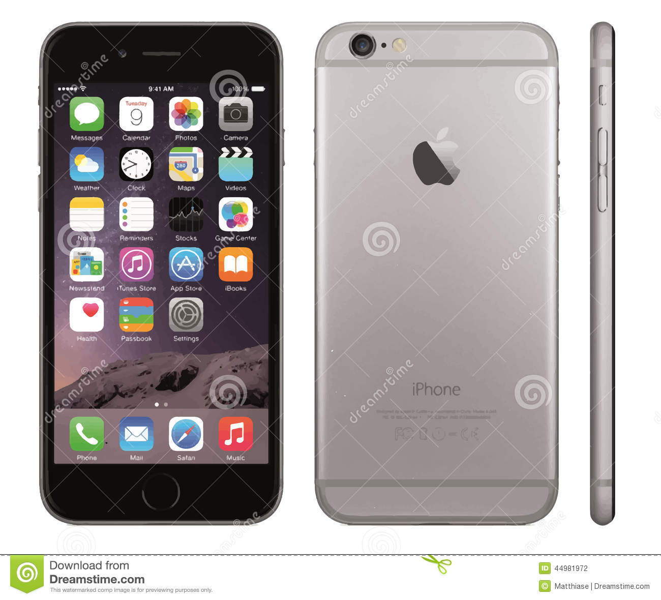 Iphone 6 clipart dimensions svg royalty free Clipart iphone 6 - ClipartFest svg royalty free