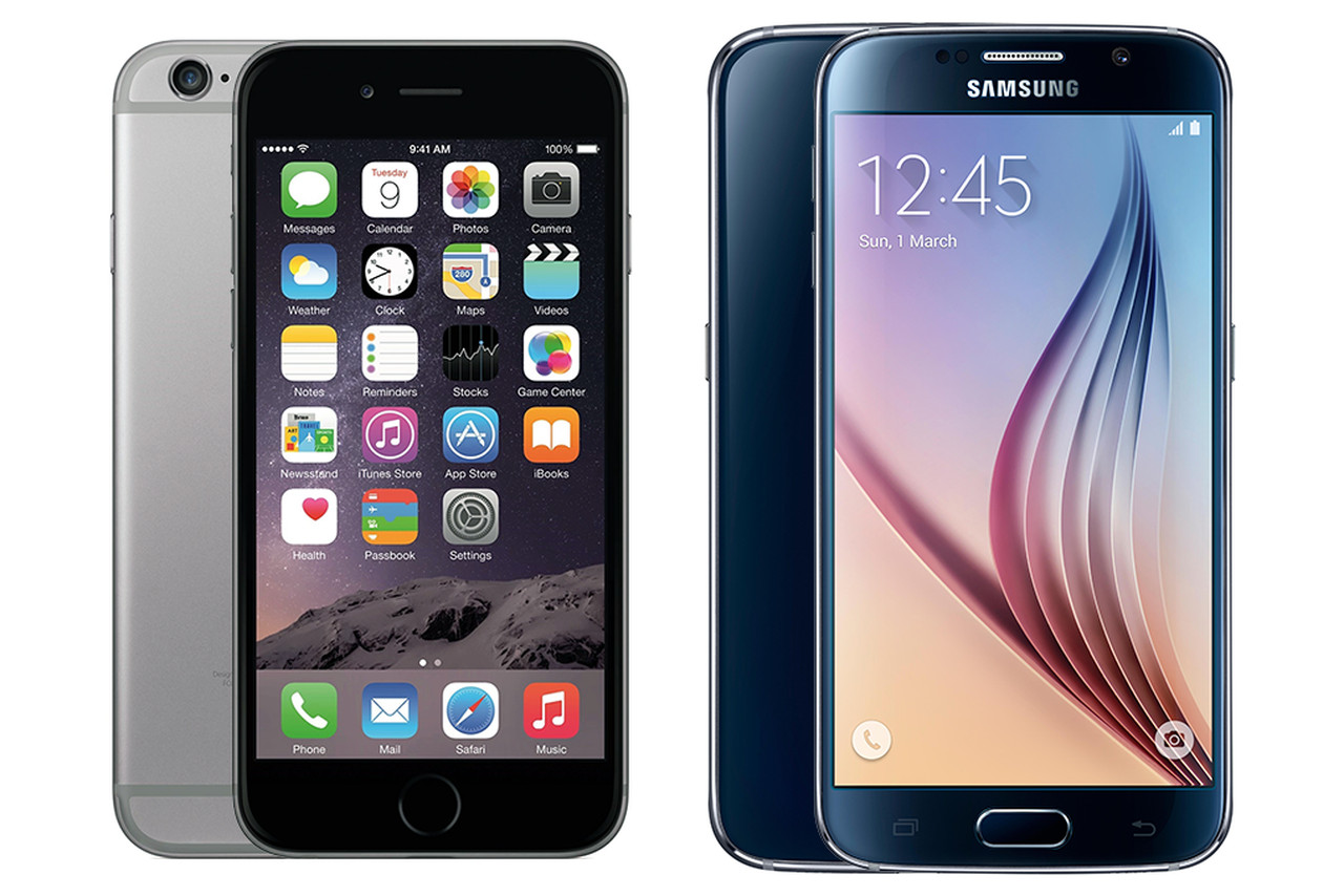 Iphone 6 clipart dimensions graphic stock iPhone 6 vs. Galaxy S6: a pixel-perfect size comparison | The Verge graphic stock