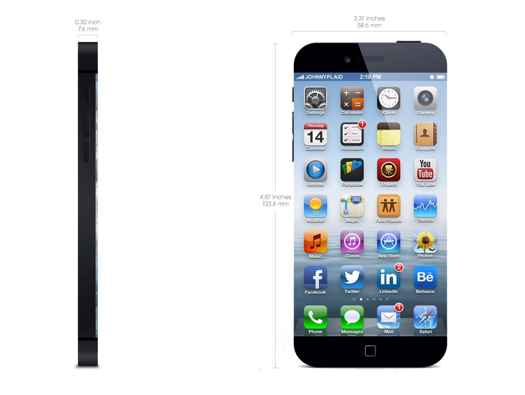 Iphone 6 clipart dimensions banner free stock Iphone screen clipart size - ClipartFox banner free stock