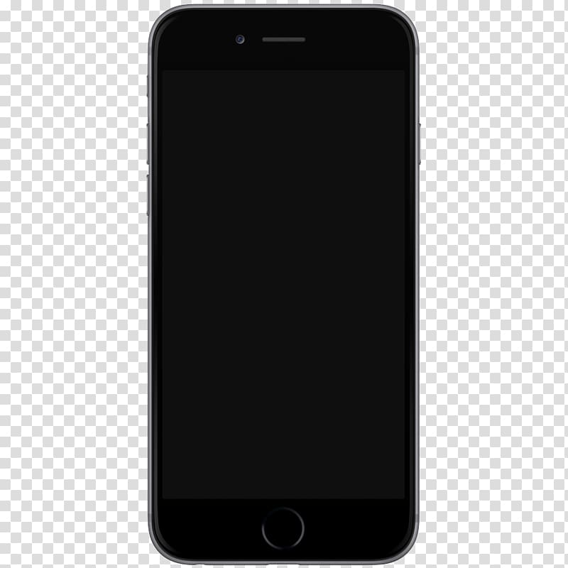 Iphone 7 clipart template image black and white stock Space gray iPhone 6, Iphone 7 Template transparent ... image black and white stock