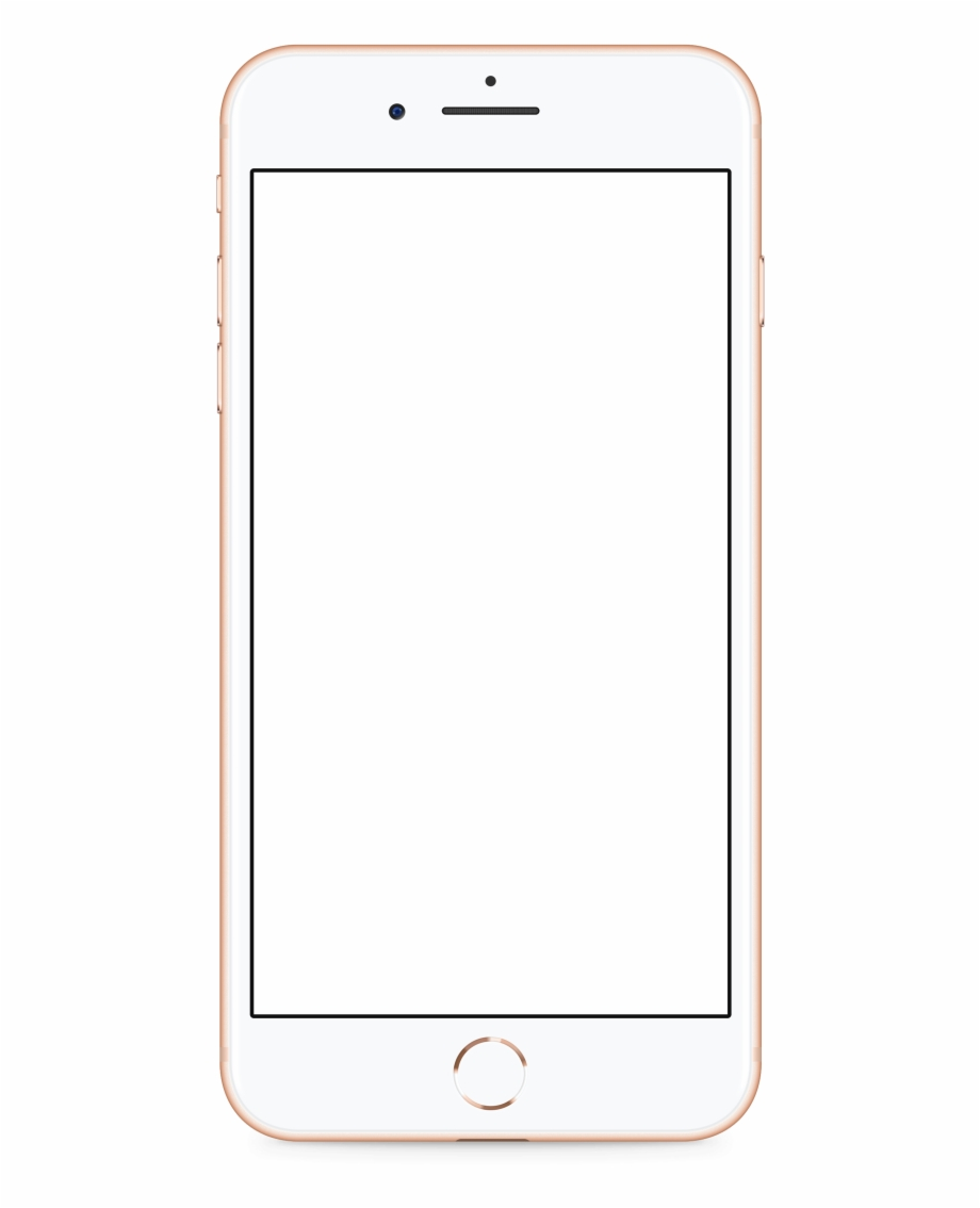 Iphone clipart gold banner royalty free Apple Iphone 8 Gold Transparent Png Image - Iphone 8 Png ... banner royalty free