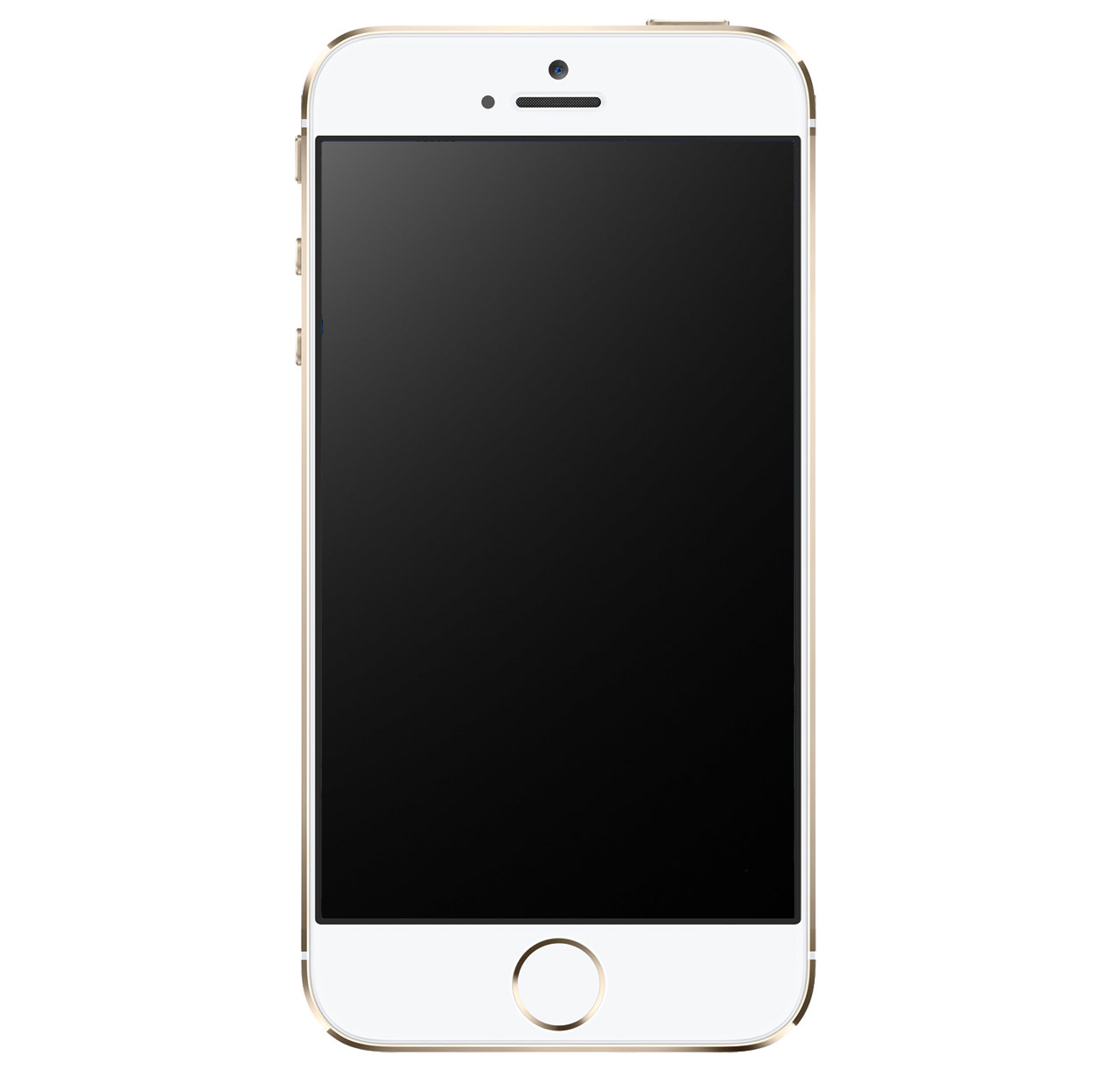 Iphone clipart gold free library Iphone Png Image Gold free library
