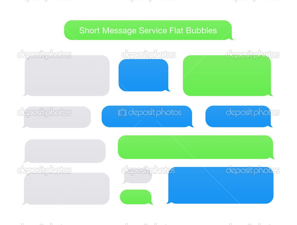 Iphone message clipart vector black and white Iphone Text Template. quicktxt ios iphone text on photos app ... vector black and white