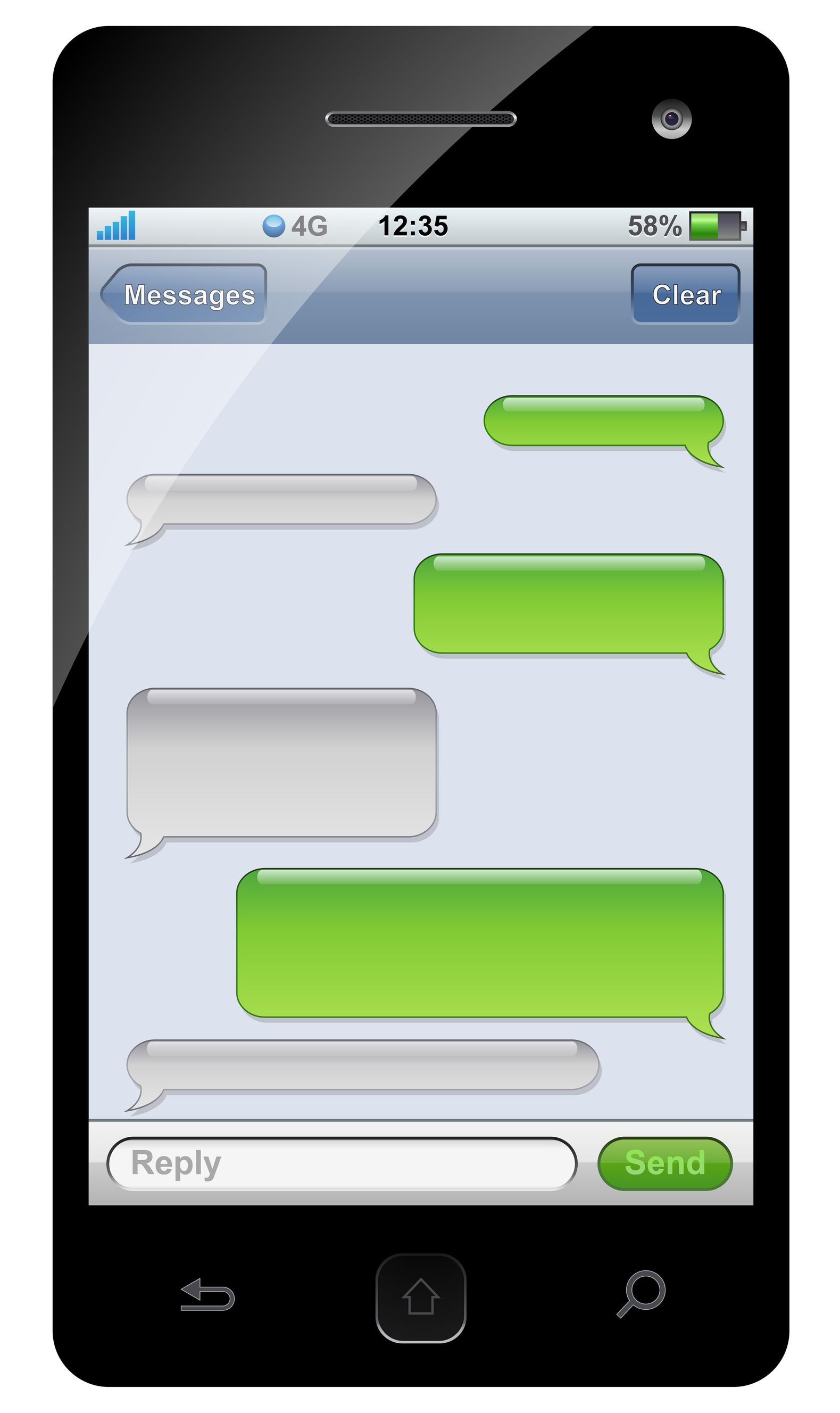 Iphone message clipart clip free stock Iphone text message clipart - ClipartFest clip free stock