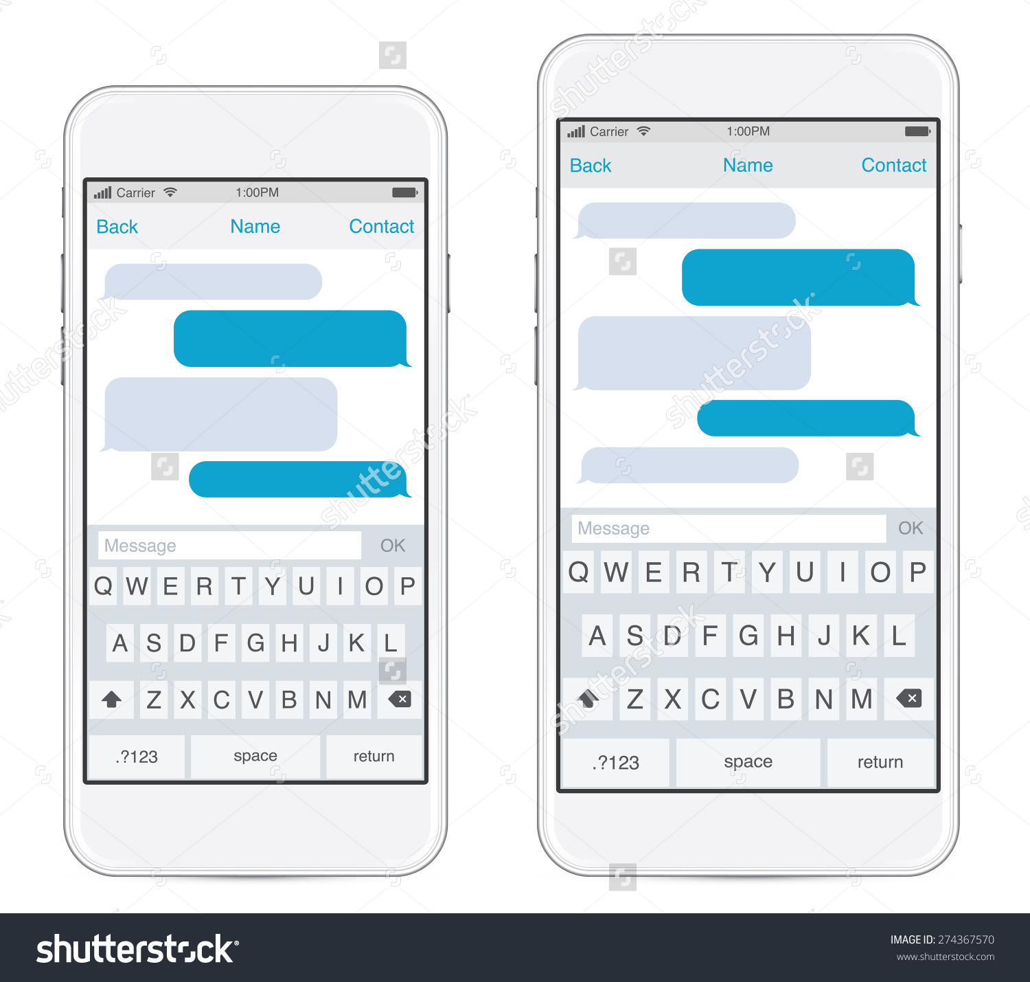 Iphone text message clipart image free stock Iphone text bubble clipart - ClipartFest image free stock