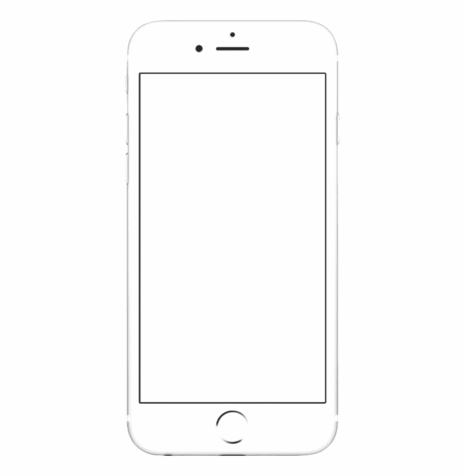 Iphone vector clipart picture library stock Iphone Frame Play Button - Iphone 8 Plus Vector Free PNG ... picture library stock