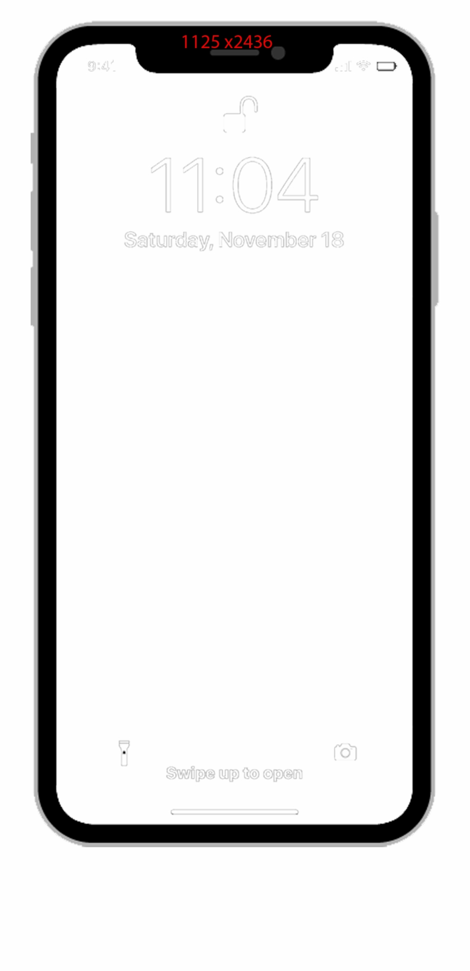 Iphone x clipart free png stock Iphone Png Template - Iphone X Template Png Free PNG Images ... png stock