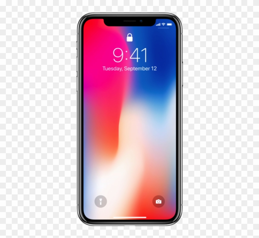 Iphone x clipart transparent png library stock Smartphone Mobile Png Image Background - Iphone X Clear ... png library stock