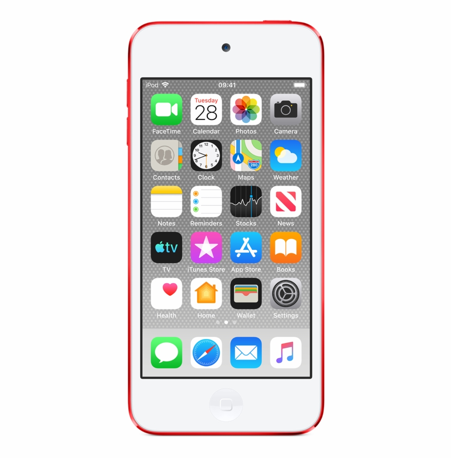 Ipod touch clipart clip freeuse library Ipod Touch - Red Ipod Touch 7 Free PNG Images & Clipart ... clip freeuse library