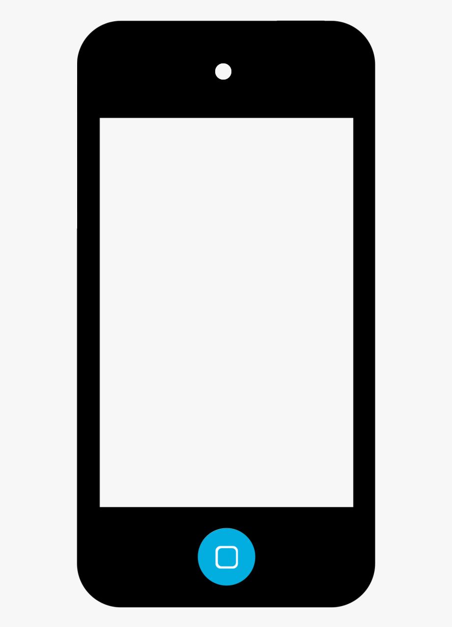 Ipod touch clipart transparent Cellphone Clipart Ipod Touch - Noun Project Iphone #340609 ... transparent