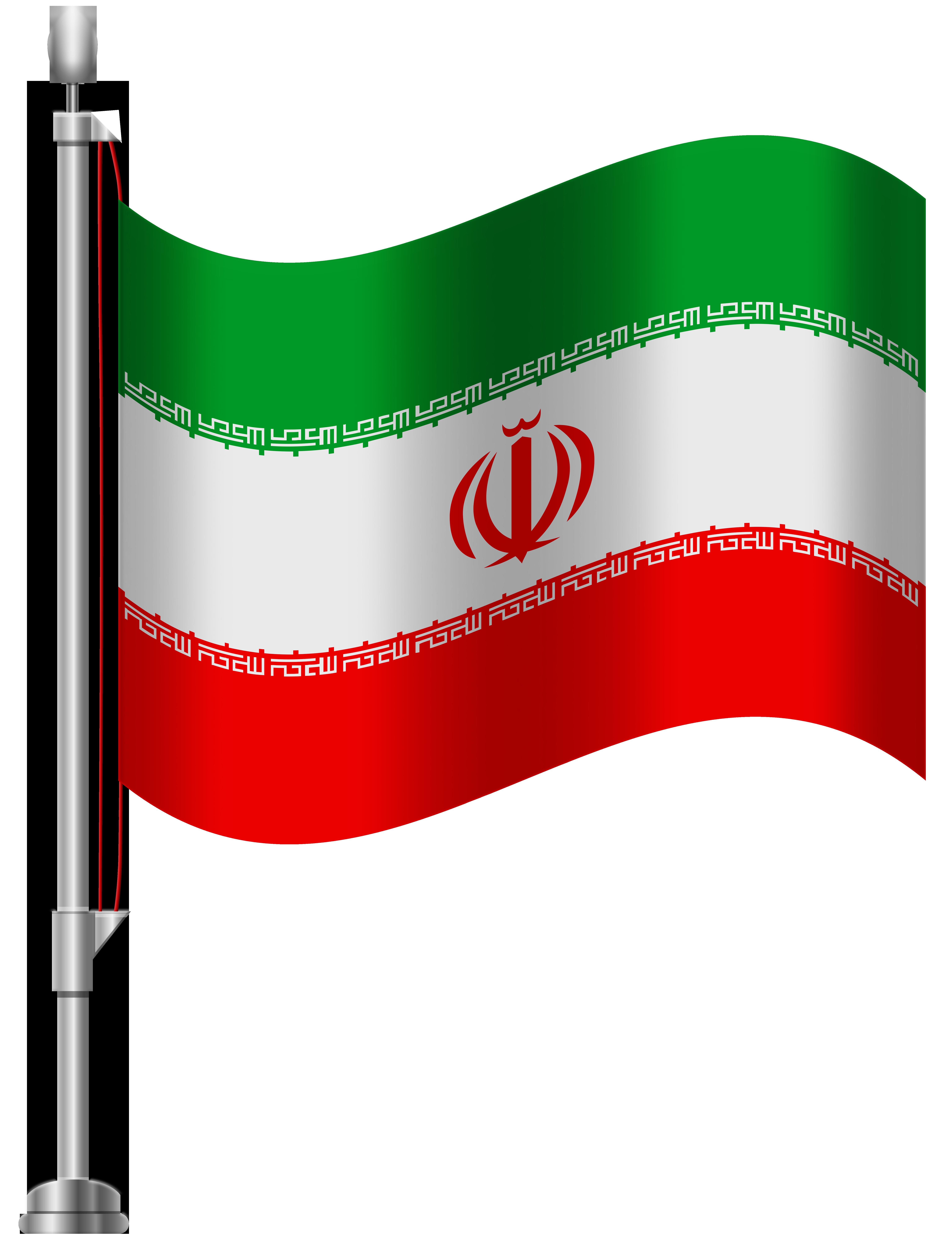 Iran clipart vector library Iran Flag PNG Clip Art - Best WEB Clipart vector library