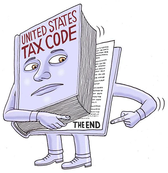 Irc clipart tax table jpg library library How long is the tax code: It is far shorter than 70,000 pages. jpg library library