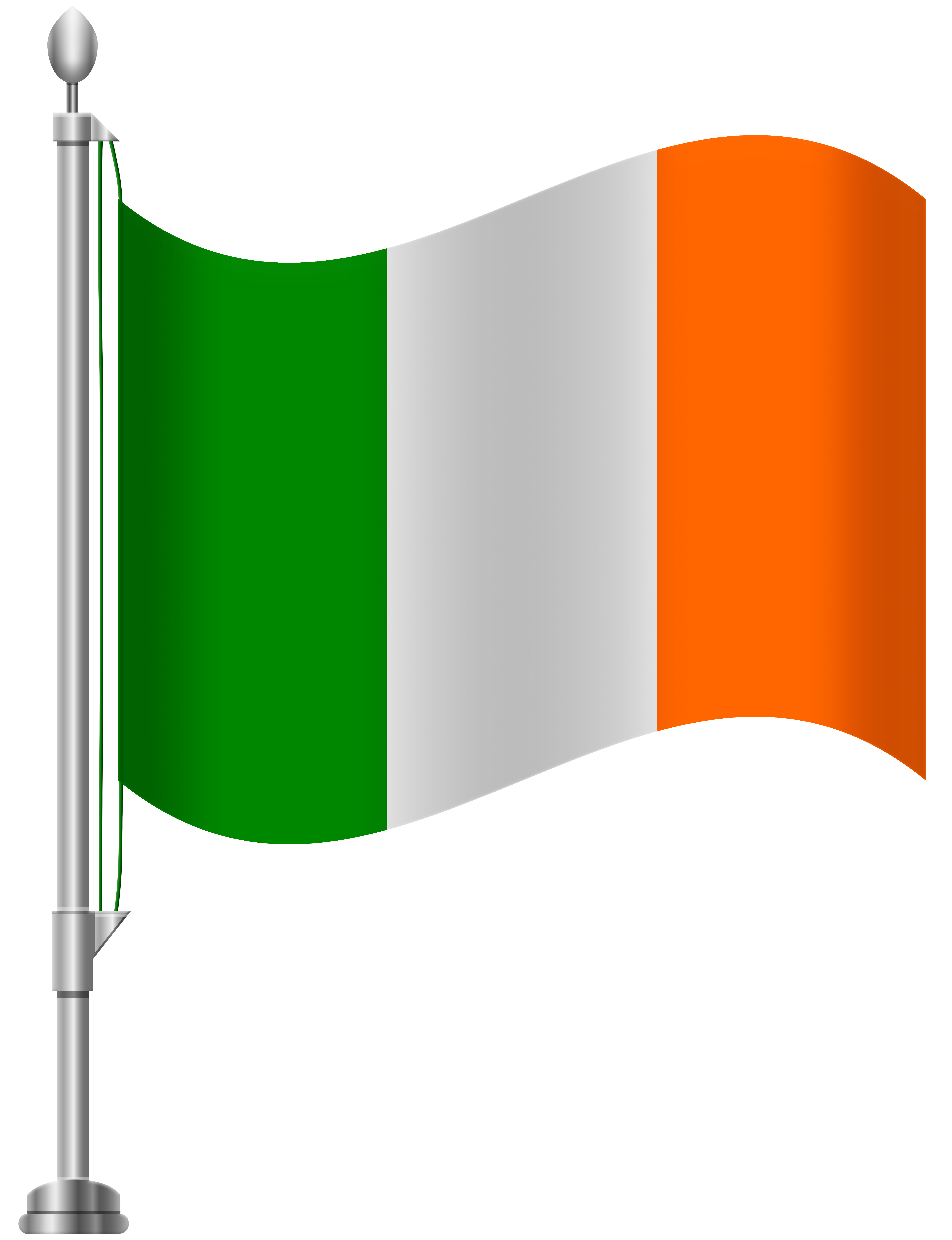 Ireland flag clipart picture free stock Ireland Flag PNG Clip Art - Best WEB Clipart picture free stock