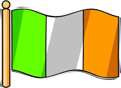 Ireland flag clipart png freeuse download Free Flag Of Ireland, Download Free Clip Art, Free Clip Art ... png freeuse download