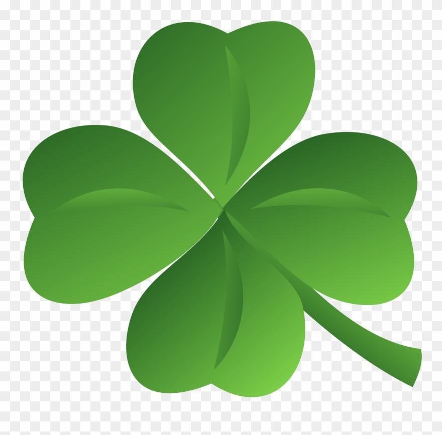 Irish clover clipart png freeuse download Transparent Clover Irish - Four Leaf Clover Clip Art Png ... png freeuse download