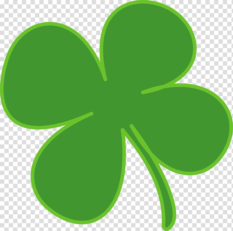 Irish clover clipart banner library library Shamrock Saint Patrick\\\'s Day , Irish Clover transparent ... banner library library