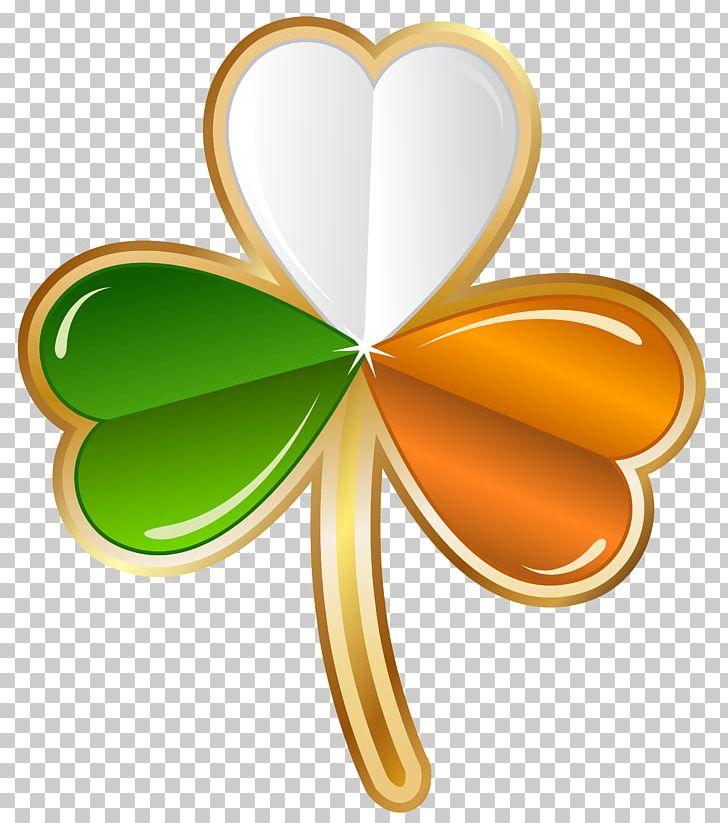 Irish clover clipart vector transparent library Ireland Shamrock Saint Patrick\'s Day Irish People PNG ... vector transparent library