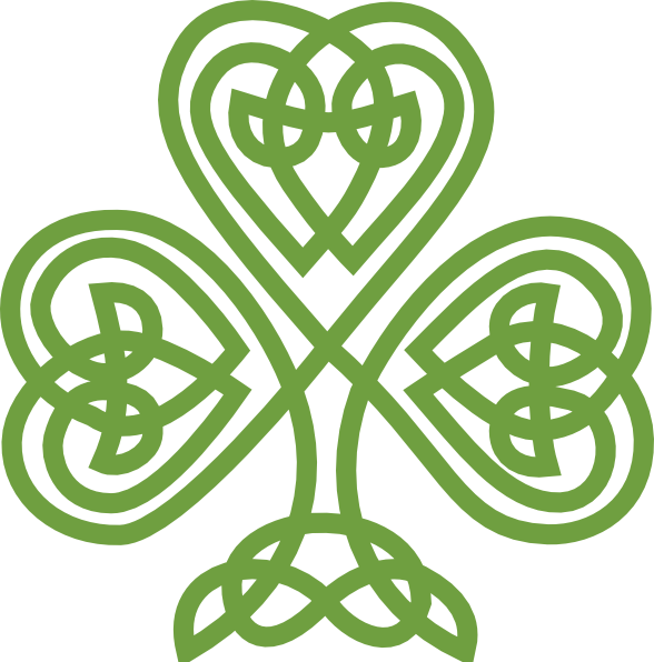 Irish crown clipart clip art royalty free stock Irish Celtic Clover Art | Celtic Shamrock clip art - vector clip art ... clip art royalty free stock