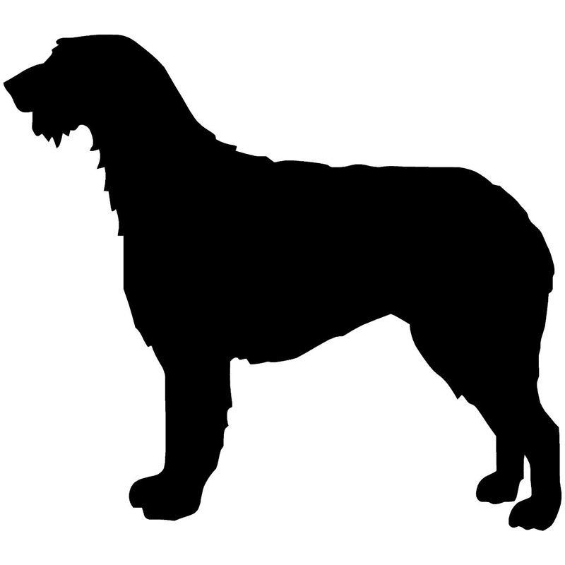 Irish wolfhound clipart clipart royalty free library US $1.97 40% OFF|22.9*20.3CM Irish Wolfhound Dog Car Cover Scratches Animal  Reflective Stickers Fashion Accessories Decorative Body Decal C6 0125-in ... clipart royalty free library