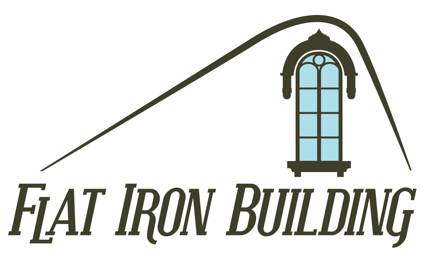 Iron building logo clipart clipart black and white library Flat Iron Building / SHRR | Brands of the World™ clipart black and white library