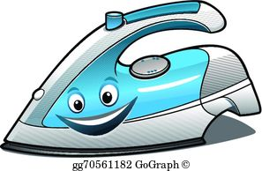 Iron clipart image transparent library Electric Iron Clip Art - Royalty Free - GoGraph image transparent library