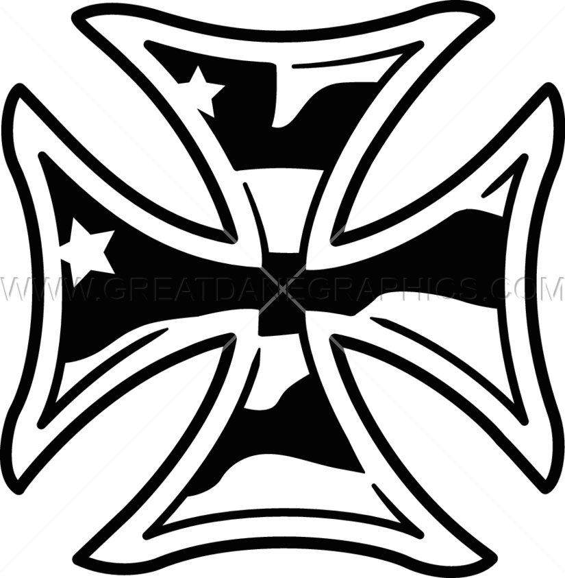 Iron cross clipart clipart library download Iron Cross | Production Ready Artwork for T-Shirt Printing clipart library download